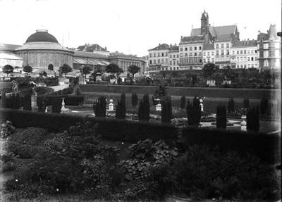 Jardin botanique de Bruxelles : Jardin italien et bâtiment principal #0025
