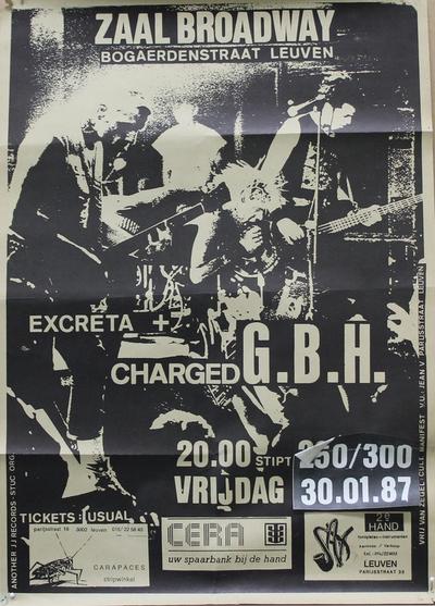 Excreta + Charged G.B.H.