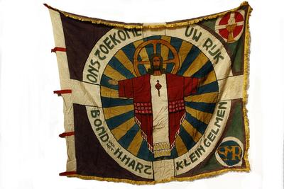 vlag van de Bond van het H. Hart
