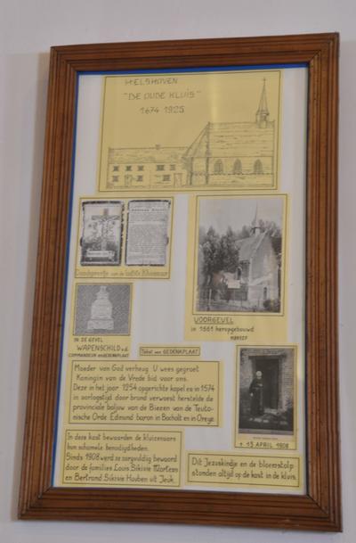 Beknopte geschiedenis van de Kapel van Helshoven