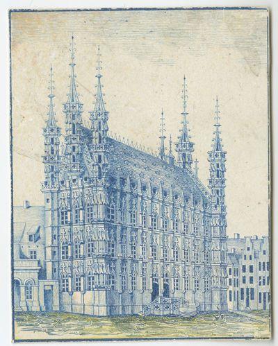 Het stadhuis van Leuven