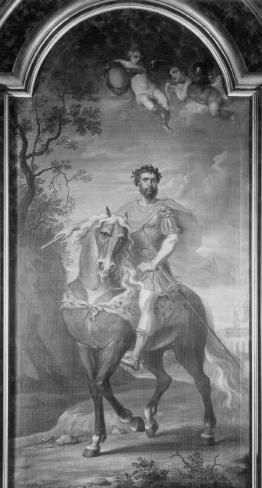 Portret van ridder Bastijns