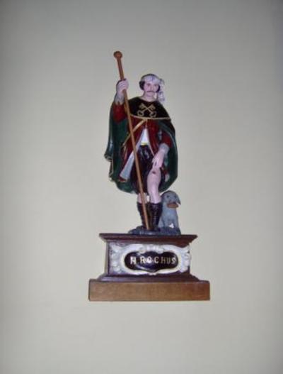beeld Heilige Rochus van Montpellier