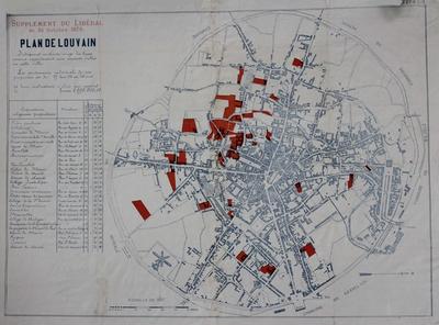 Plan de Louvain