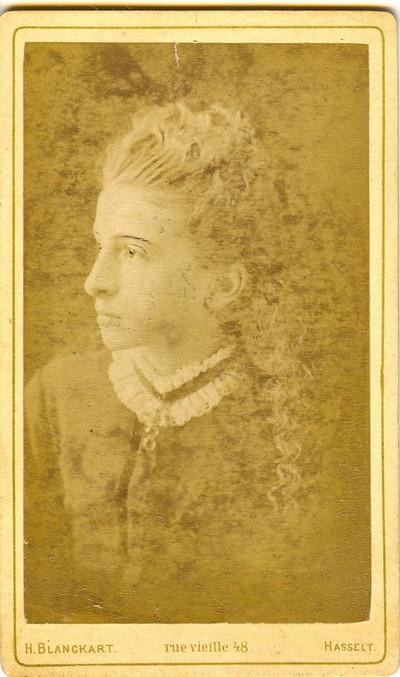 Henri Joseph Blanckart 1833 1894 Carte De Visite Met Portret