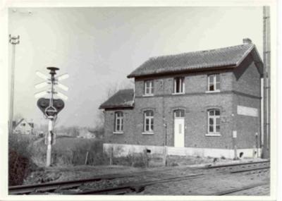 Spoorweghuisje in Pepingen