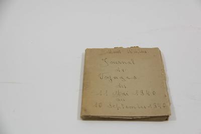 Reisdagboek door Marcel Winters van 11 mei 1940 tot 10 september 1940