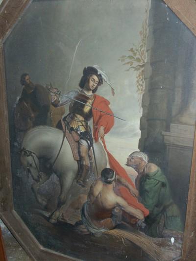 H. Martinus deelt zijn mantel