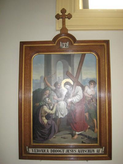 Veronica draagt het gezicht van Christus