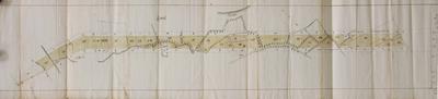 Extract der Caert figurative der goederen geincorporeert in de Lovensche vaert onder Battel