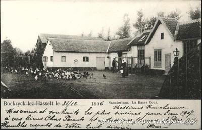 Bockrijck-lez-Hasselt - Sanatorium, La Basse Cour