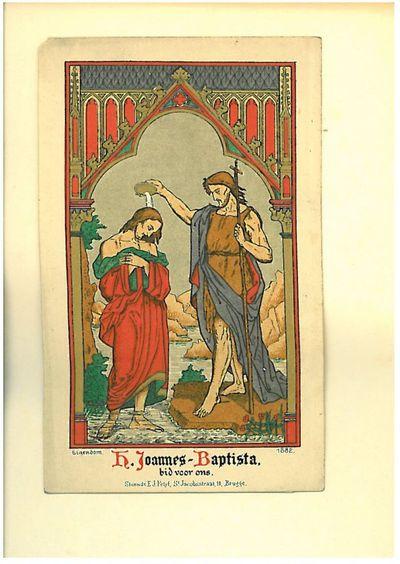 Johannes de doper doopt Christus