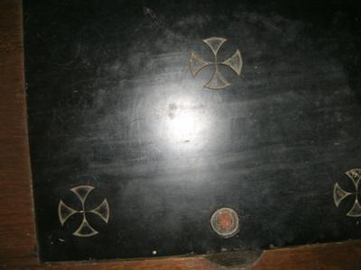 zegel in St Quintinusaltaar