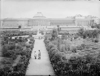 Jardin botanique de Bruxelles : Ecole de botanique et bâtiment principal #0121