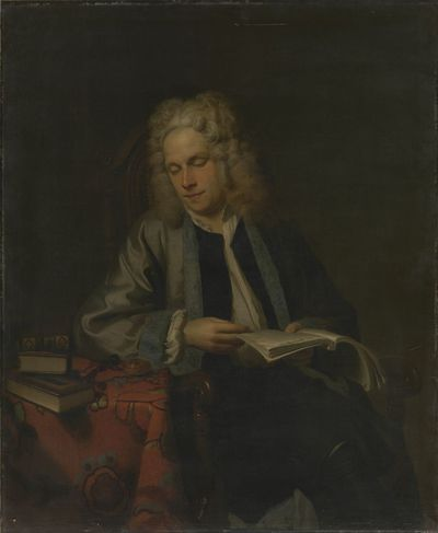 Portret van de dichter William Congreve