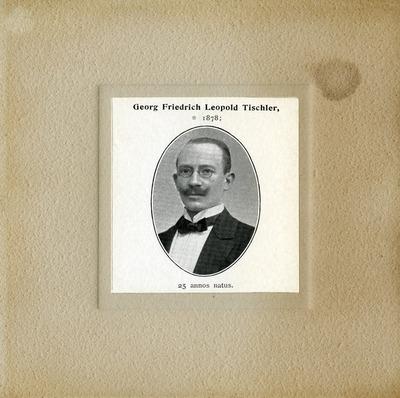 [PORTRAIT] Georg Friedrich Leopold Tischler