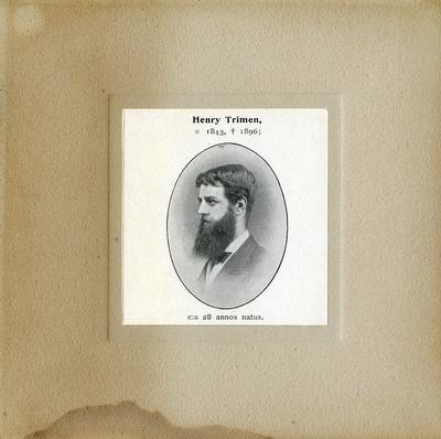 [PORTRAIT] Henry Trimen