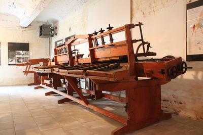 Machine om appels en peren te sorteren en calibreren