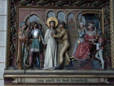 Kruiswegstatie 1