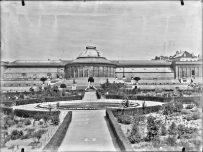 Jardin botanique de Bruxelles : Ecole de botanique et bâtiment principal #0137