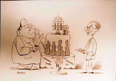 politieke cartoons