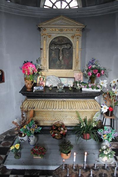 Altaar in de kapel van Janneke de Grijzer