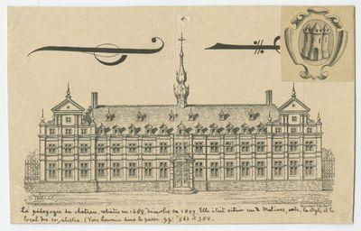 La Pédagogie du Château, rebâtie en 1682