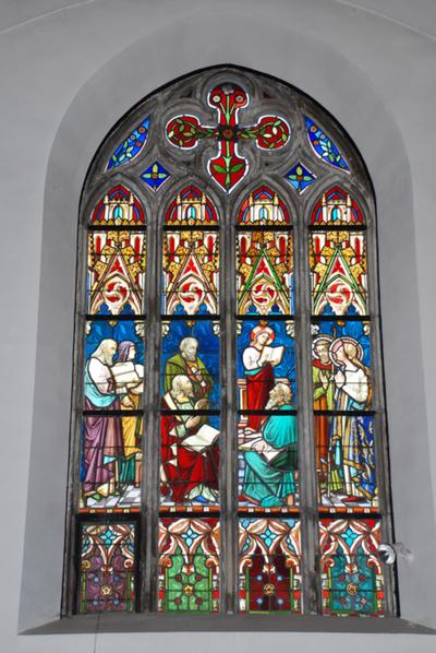 Jezus onderricht in de tempel