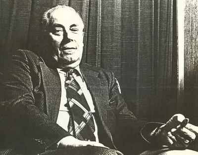 Jean Nicolaï (°1951), portret van Dr. Albert Barthels, 1982, papier.