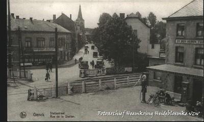 Genck Statiestraat Rue de la Station