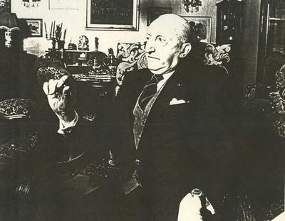 Jean Nicolaï (°1951), portret Pierre Ghysen, 1982, papier.