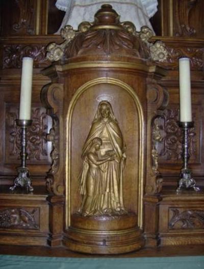 tabernakel Onze Lieve Vrouwaltaar