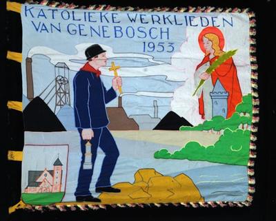 Vlag van K.W.B. Genenbos 1953