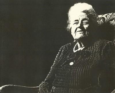 Jean Nicolaï (°1951), portret Juliette Stellingwerff (1905-1986), 1982, papier.