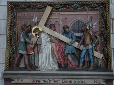 Kruiswegstatie 5