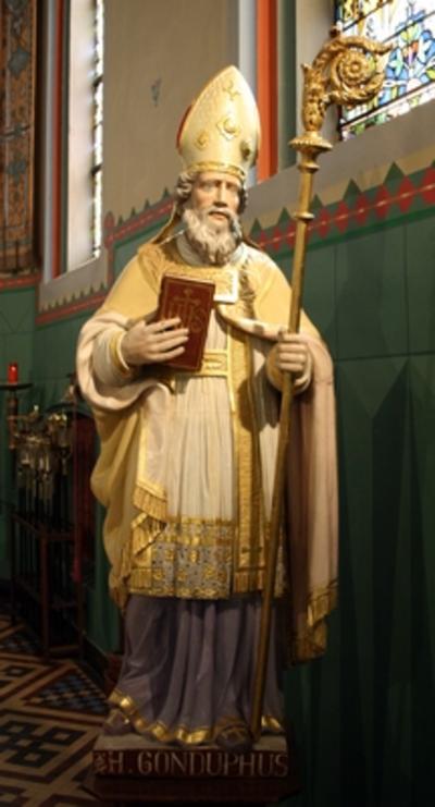 Heilige Gondulfus van Maastricht