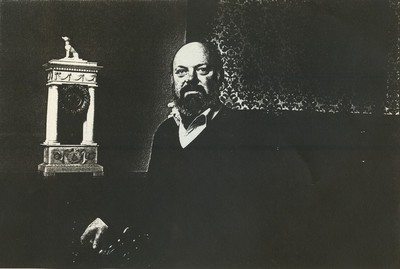 Carlo Valkenborgh (°1957), portret Francis Goole, 1982, papier.