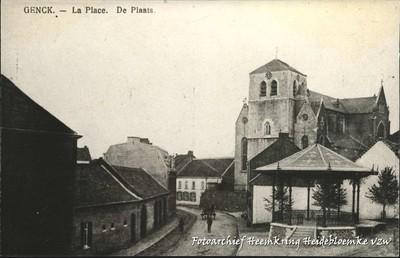 Genck - La Place De Plaats
