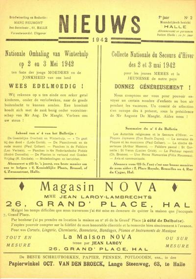 Pers - Nieuws, jg. 2, nr. 2 (1942)