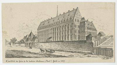 L'institut des frères de la doctrine chrétienne. (Placet.) fondé en 1887