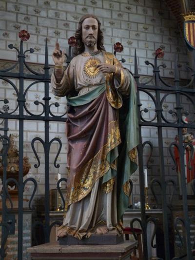 Beeld van het Heilig Hart