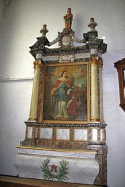 Altaar van de heilige Catharina van Alexandrië