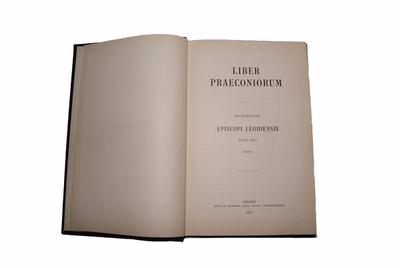 Liber Praeconiorum