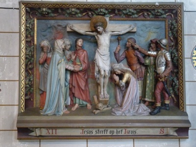 Kruiswegstatie 12