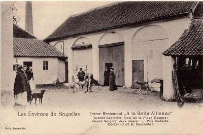Hoeve in Sint-Genesius-Rode