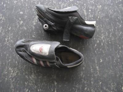 Schoenen wielrenner, met 'kliksysteem', mét bijhorende pedalen