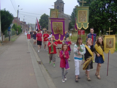 sfeerbeeld processie 2009