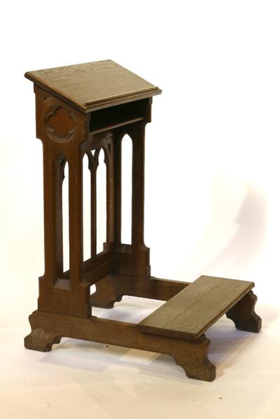 houten bidstoel