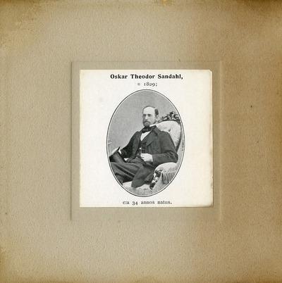 [PORTRAIT] Oskar Theodor Sandahl