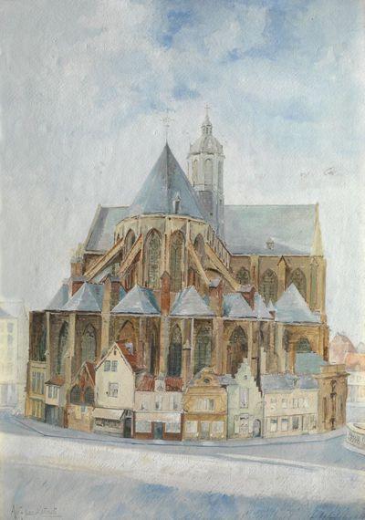 De Sint-Pieterskerk in Leuven